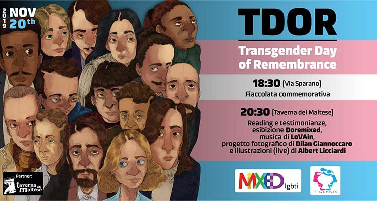 Bari, mercoledì una fiaccolata in via Sparano per le vittime di transfobia #TDoR - Puglia In