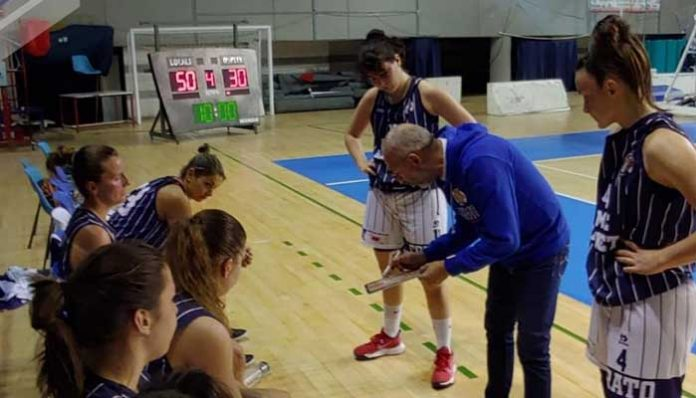 Basket, serie B Femminile, NM Corato battuta a Taranto